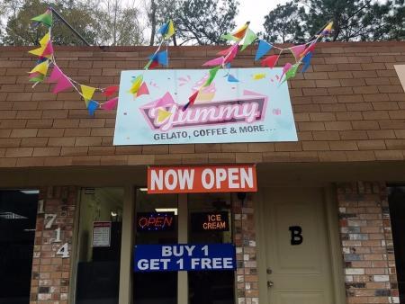Yummy Gelato Coffee & More Opens