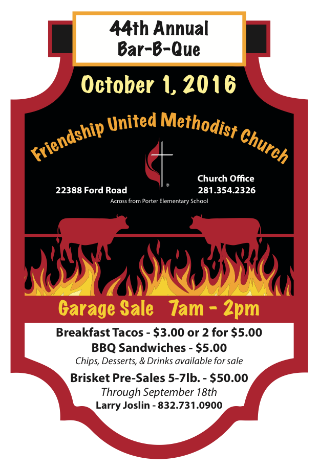 Friendship United Methodist Church BBQ