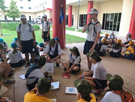 AFJROTC Students Graduate Leadership Camp