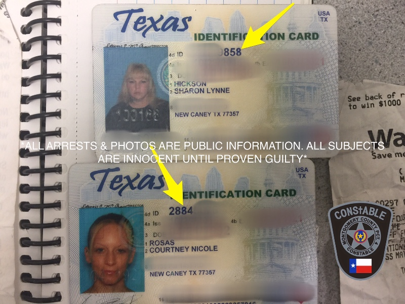 2 New Caney Women Arrested For Forgery