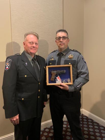 PCT 4 Captain Honored At Heroes Awards Banquet