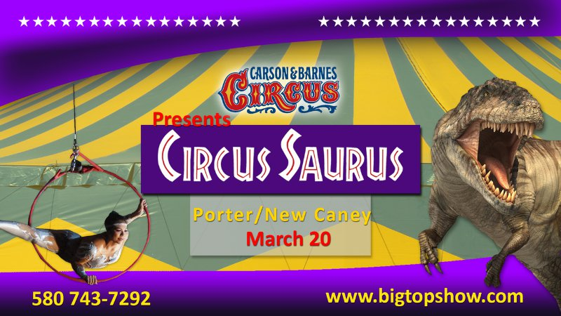 Circus Saurus Coming To New Caney