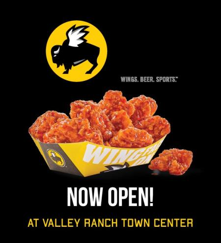 Buffalo Wild Wings Opens In Valley Ranch