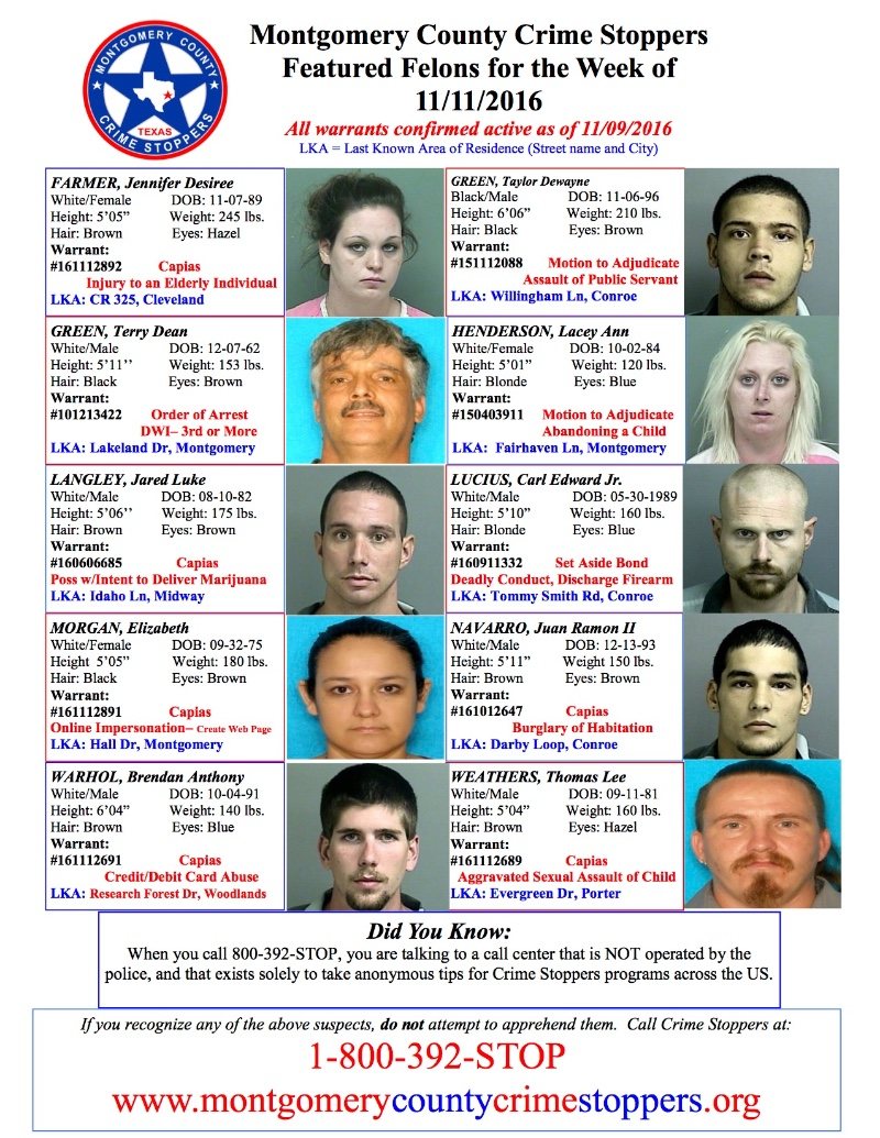 MCSO Blotter For East County