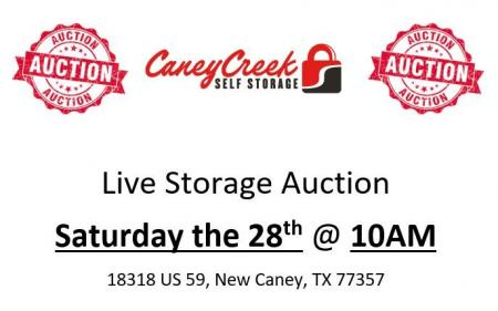 Storage Unit Auction - 4/28