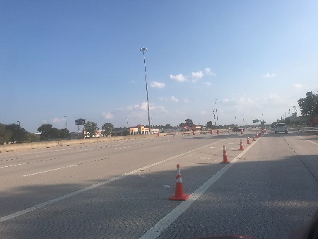 Traffic Switch To Start On 59/San Jacinto Bridge