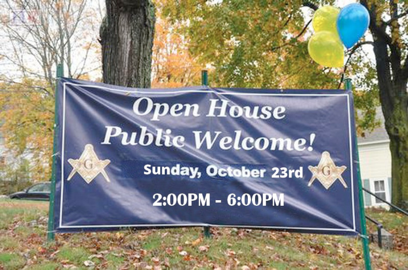 Sam B. Crawford Masonic Lodge Hosts Open House