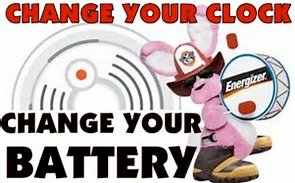 Change Your Clock and Change Your Batteries