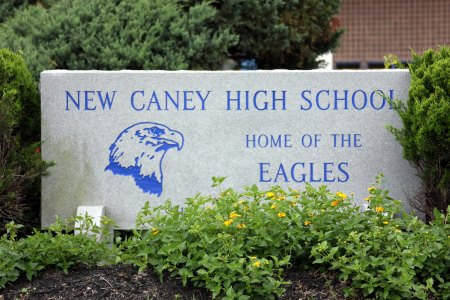 New Caney High School Sign