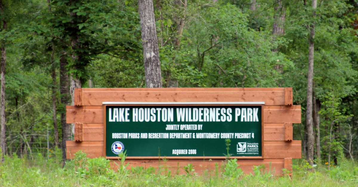 Lake Houston Wilderness Park Sign Photos New Caney Tx
